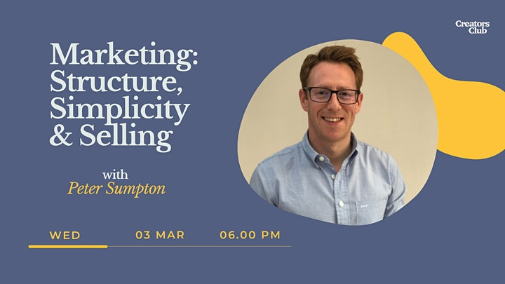 Marketing Workshop | Structure, Simplicity & Selling image