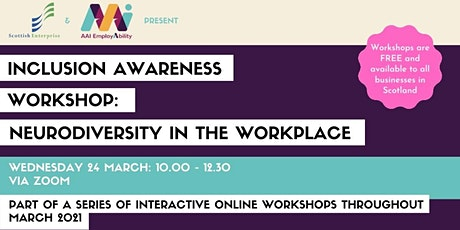 Inclusion Awareness Workshop: Neurodiversity in the Workplace tickets