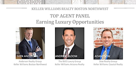 Top Agent Panel: Earning Luxury Opportunities tickets