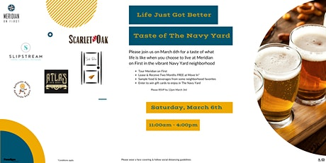 Meridian on First- Taste of The Navy Yard tickets