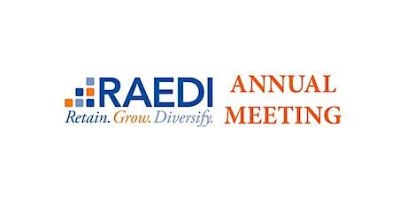 RAEDI Annual Meeting tickets