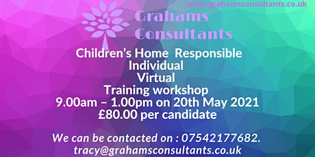 Children's Home Responsible Individual Training Workshop tickets