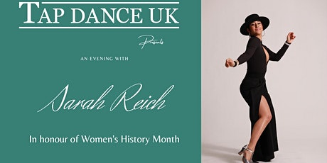 TDUK Presents: An Evening with Sarah Reich tickets