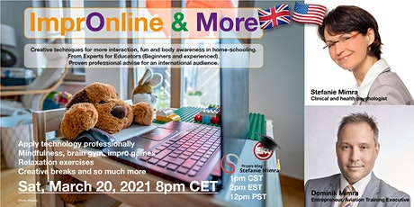 ImprOnline & More - creative techniques in home-schooling (English) tickets