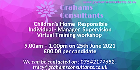 Children's Home Managers Supervision Workshop tickets
