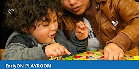 EarlyON Playroom - Monday morning tickets