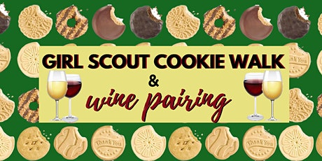 Girl Scout Cookie Walk & Wine Pairing tickets