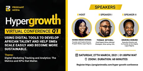 HyperGrowth, Q1 Virtual conference tickets