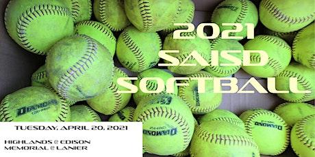 2021 SAISD SOFTBALL @ SPORTS COMPLEX - Game #19 tickets