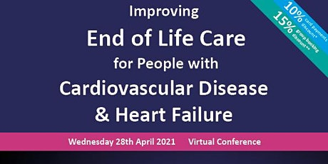 End of Life Care for people with Cardiovascular Disease & Heart Failure tickets