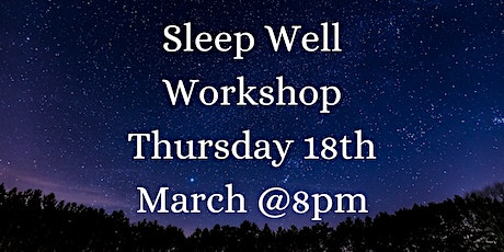 Neals Yard Remedies Organic Sleep Well  Workshop tickets