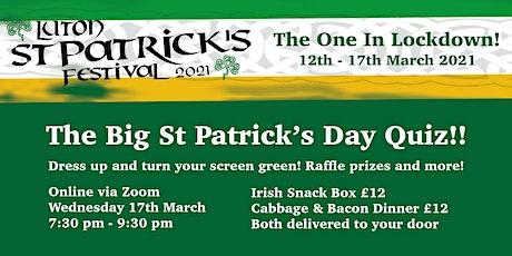 The Big St Patrick's Quiz tickets