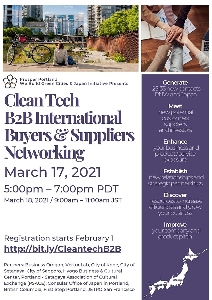 Clean Tech B2B Buyers & Suppliers International Networking image