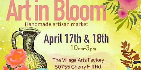 Art in Bloom Saturday April 17th tickets