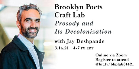 Brooklyn Poets Craft Lab: Prosody and Its Decolonization tickets