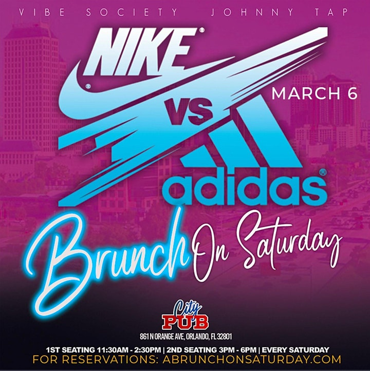 Brunch on First Saturday - Nike vs Adidas Edition image
