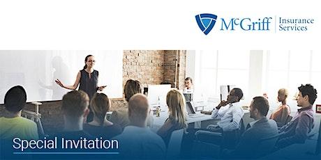 Virtual McGriff Employee Benefit Spring Seminar tickets