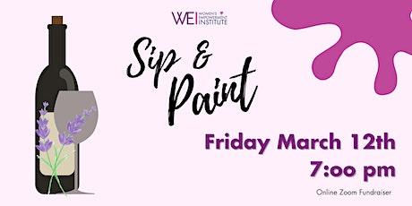 WEI 2nd Annual Virtual Sip & Paint Fundraiser tickets