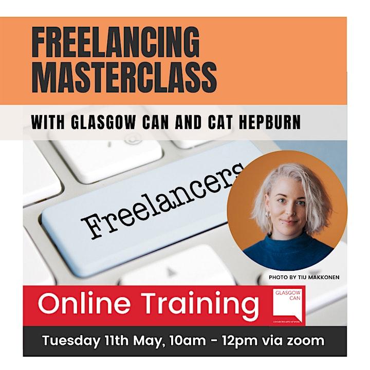 Freelancing Masterclass with Cat Hepburn image