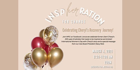 InspHERation for Change: Celebrating Cheryl's Recovery Journey! tickets