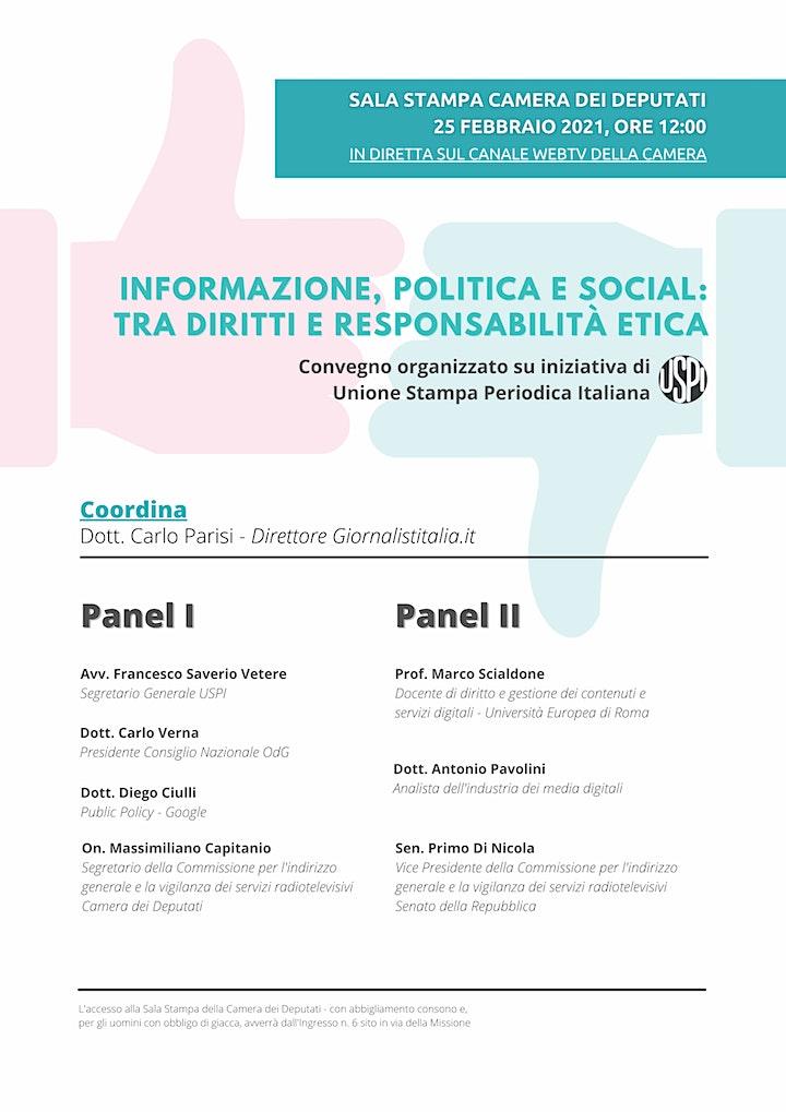 Immagine Informazione, politica e social: tra diritti e responsabilità etica