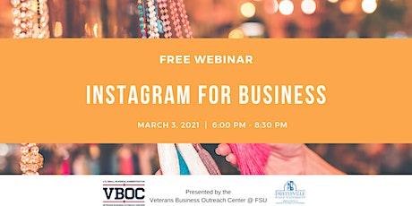 Instagram for Business - Webinar biglietti