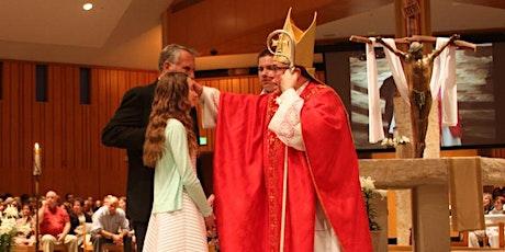Sacrament of Confirmation tickets