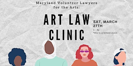 Art Law Clinic, March 2021! tickets