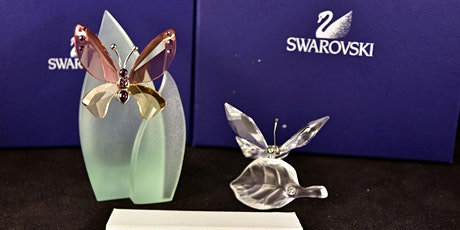 Timed Online Only Auction  Swarovski Crystals & Campbell's Soup Collectable tickets