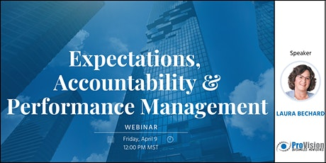 Expectations, Accountability & Performance Management tickets