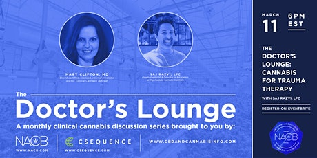 The Doctor's Lounge: Cannabis for Trauma Therapy tickets
