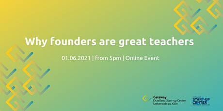 Mentoring – Why founders are great teachers tickets