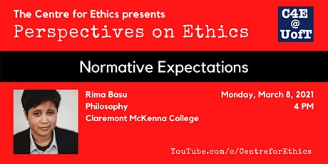Rima Basu, Normative Expectations (Perspectives on Ethics) tickets