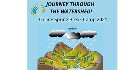 Journey Through the Watershed! 1/2 Day Online Spring Break Camp tickets