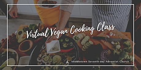Online Vegan Cooking Class - March 2021 tickets