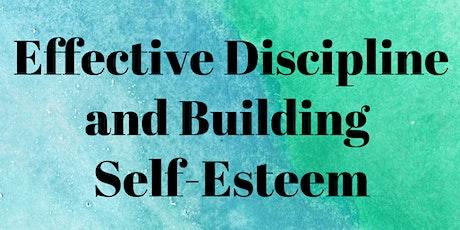 Effective Discipline and Building Self-Esteem entradas