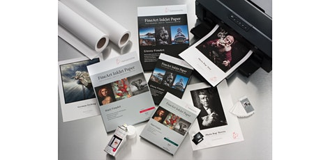 Paper Makes a Difference! The Importance of Paper Choices by Hahnemühle- Live Online tickets