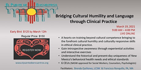 Bridging Cultural Humility and Language in Clinical Practice- March 19 tickets