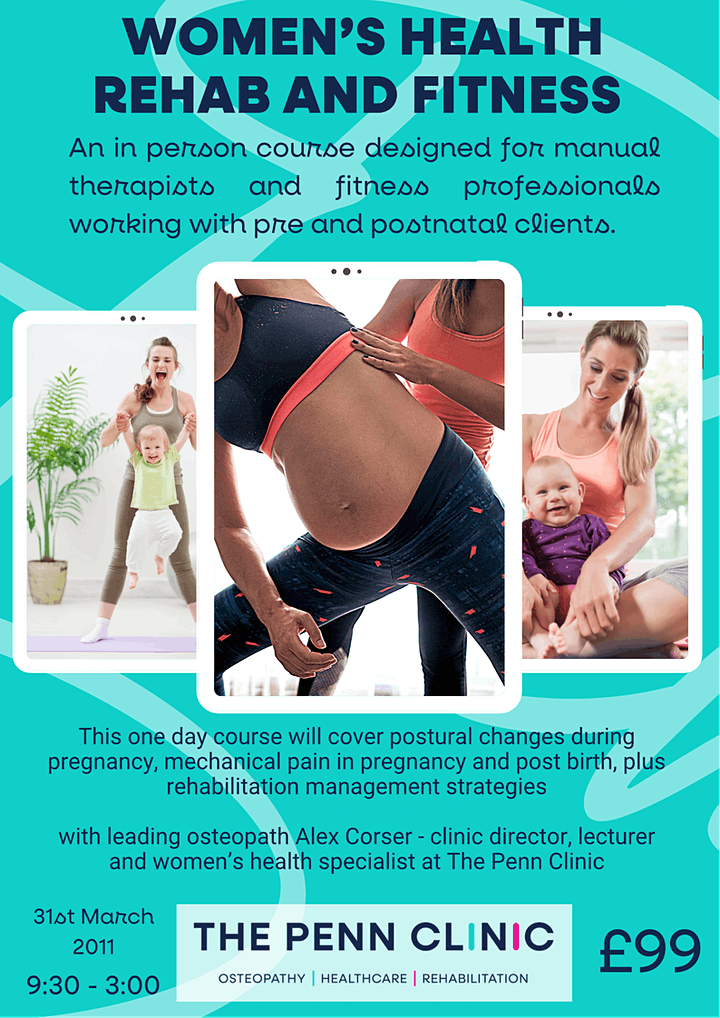Women's health for manual therapists and fitness professionals image