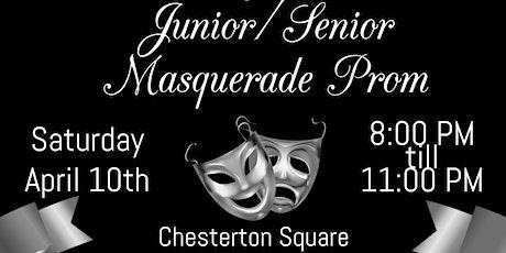 Ponchatoula Class of 2021 Junior/Senior Masquerade Prom tickets