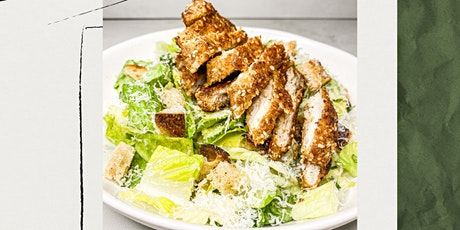 SP Nutrition Virtual Cooking Class- Chicken Schnitzel with Caesar Salad tickets