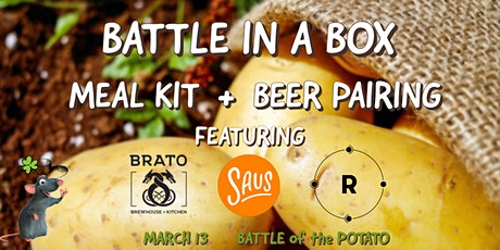 Battle in a Box: Battle of the Potato with Beer Pairings tickets