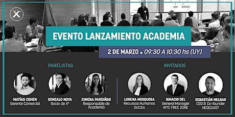 Evento Lanzamiento Academia Xn 2021 biglietti