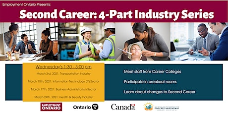 Second Career: 4 Part Industry Series tickets