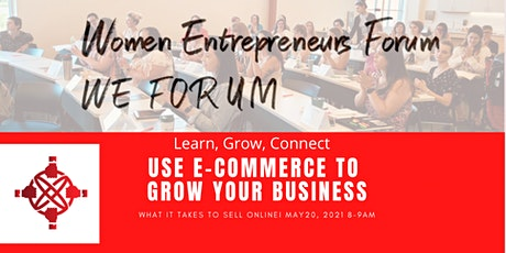 Using E-Commerce to Grow Your Business tickets