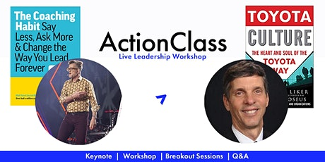 Live Leadership Coaching Workshop w. Michael Bungay Stanier & Mike Hoseus tickets