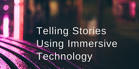 Telling stories using Immersive Technology boletos