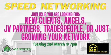 Speed Networking - Property Professionals tickets