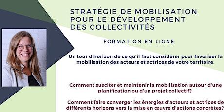 Stratégie de mobilisation pour le développement des collectivités billets