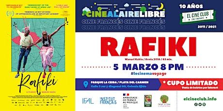 Rafiki / Cine Francés  al Aire Libre boletos